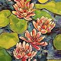 Water Lily  by Courtney Adair Warren