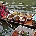 Water Market Thailand 1 by Jeff Brunton