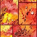 Water On Color Collage Eight by Irina Sztukowski