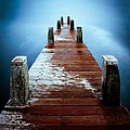 Water On The Jetty by Dave Bowman
