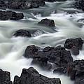 Water Over Rocks by Scott Sanders