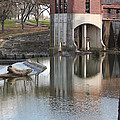 Water Reflection by Marjie Parker