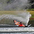 Water Skiing 10 by Vivian Christopher