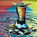 Water Splash Art by Anthony Sacco