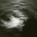 Water Swirl In The Moonlight by David Walker