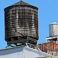 Water Tanks From The High Line by Steven Spak