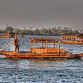 Water Taxi In China by Bill Hamilton