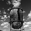 Water Tower At Mt Diablo by Jennette Maintzer