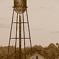 Water Tower by Olivier Le Queinec