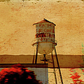 Water Tower by Paulette B Wright