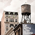 Water Towers 14 - New York City by Gary Heller