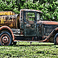 Water Truck by Ron Roberts