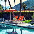 Water Waiting Palm Springs by William Dey