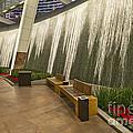 Water Wall - Aria Resort Las Vegas by Jamie Pham