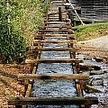 Water Way To Mill by Al Gleason