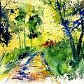 Watercolor 318012 by Pol Ledent