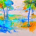 Watercolor 45314012 by Pol Ledent