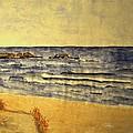 Watercolor Coast 2 by Dimitra Papageorgiou