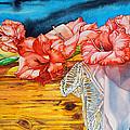 Watercolor Exercise Gladiolas by Xavier Francois