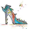 Watercolor Fashion Illustration Art by Marian Voicu