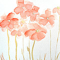 Watercolor Flower Field by Patricia Awapara