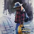 Watercolor Sketch by Ylli Haruni