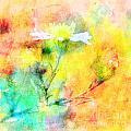 Watercolor Wildflowers - Digital Paint by Debbie Portwood