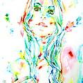 Watercolor Woman.1 by Fabrizio Cassetta