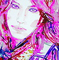 Watercolor Woman.33 by Fabrizio Cassetta