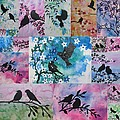Watercolour Birds by Cathy Jacobs