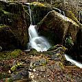 Waterfall - Naramata Dsc0065-001 by Guy Hoffman