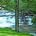 Waterfall And Hammock In Summer 2 by Duane McCullough