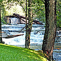Waterfall And Hammock In Summer 3 by Duane McCullough