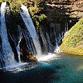 Waterfall And Rainbow 4 by Debra Thompson
