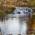 Waterfall At Bonneyville by David Arment