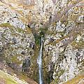Waterfall At Lago Del Matese by Gabriela Insuratelu