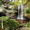 Waterfall At Roughting Linn by David Head