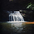 Waterfall At Table Rock National Forest by Erik Schutzman