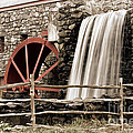 Waterfall At The Mill by Jayne Carney