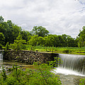 Waterfall At Valley Creek Near Valley Forge by Bill Cannon