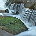 Waterfall Close Up by Frozen in Time Fine Art Photography