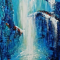 Waterfall by Dan Campbell