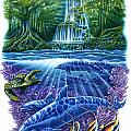 Waterfall Fantasy by JQ Licensing