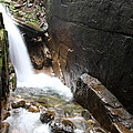 Waterfall Flume Gorge - Nh by Christiane Schulze Art And Photography