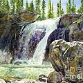 Waterfall by Hailey E Herrera