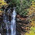 Waterfall In Autumn by Jill Lang