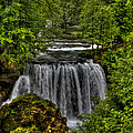 Waterfall by Josip Horvat