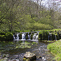 Waterfall Lathkill Dale Derbyshire by Bob Kemp