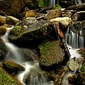 Waterfall - Naramata Dsc0056-001 by Guy Hoffman