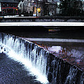 Waterfall New Hope Pa by Bill Cannon